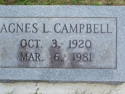 Agnes Louise <i>Boles</i> Campbell