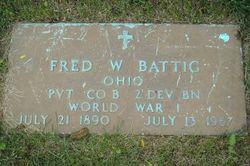 Frederick William Battig