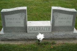 Roberta M Galbraith