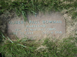 PFC Robert Paul Bowman
