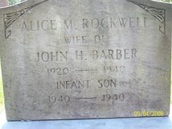 Alice M <i>Rockwell</i> Barber