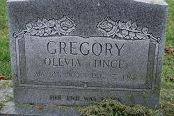 Olevia Tince <i>Morris</i> Gregory