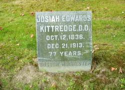 Rev Josiah Edwards Kittredge, DD