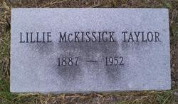 Lillie <i>McKissick</i> Taylor