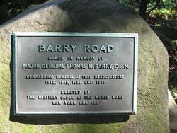 Maj Thomas H. Barry