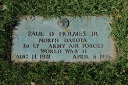 Paul DeWitt Buster Holmes, Jr