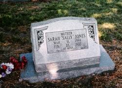 Sarah Caroline <i>Barker</i> Jones