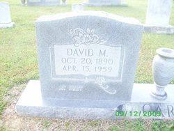 David Montgomery Carr