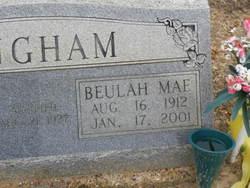 Beulah Mae <i>Ratcliff</i> Bingham