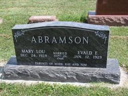 Mary Lou <i>Bocock</i> Abramson