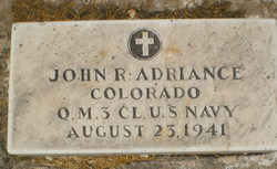 John R Adriance