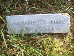 Amy <i>Burgess</i> Jones