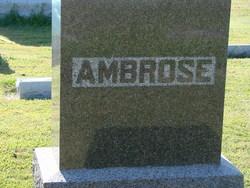 A. Anne Ambrose