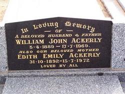 Edith Emily Ann <i>Ledger</i> Ackerley