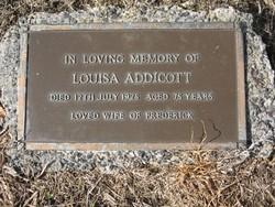 Louisa <i>Holly</i> Addicott