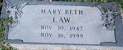 Mary Beth <i>Gentry</i> Law