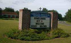 Ghents Branch Baptist Church Cemetery