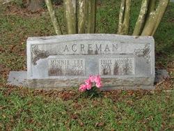 Minnie Lee Big Momma <i>Braziel</i> Acreman