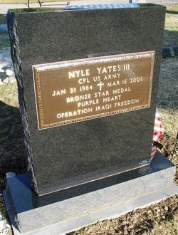 Corp Nyle Yates, III