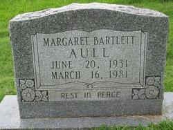 Margaret <i>Oller</i> Bartlett Aull