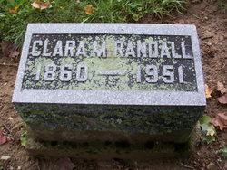 Clara M. <i>Mikesell</i> Randall