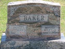Mary O. <i>Kendig</i> Baker