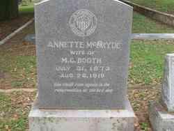 Annette <i>McBryde</i> Booth