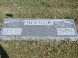 Sarah Adeline Sadie <i>Bivins</i> Anderson