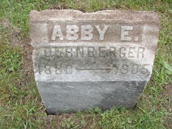 Abby / Abbie E <i>Secord</i> Dernberger