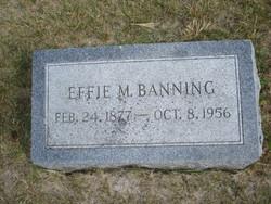 Effie <i>Morrow</i> Banning
