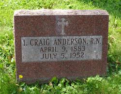 I. Craig Anderson