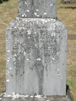 Sara Jane <i>Bedell</i> Adams