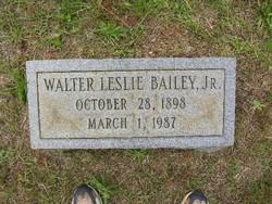 Walter Leslie Bailey, Jr