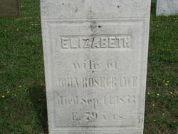 Elizabeth Rosecrance