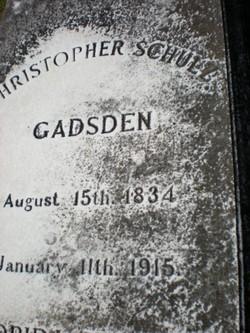 Col Christopher Schulz Gadsden