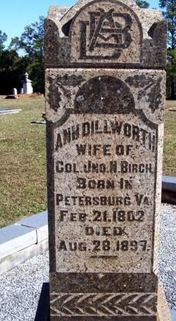 Ann <i>Dillworth</i> Birch