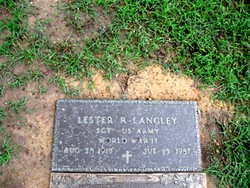 Lester Raymond Langley