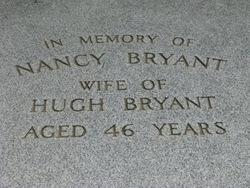 Nancy <i>Shields</i> Bryant