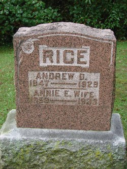 Annie E. <i>Breckenridge</i> Rice