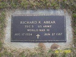 Richard Keith Abear