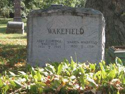 Mary Abigail Abby <i>Eldredge</i> Wakefield