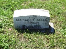 Margaret <i>Allen</i> Johnson