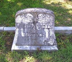 Marcia <i>Wells</i> Matson