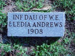 Infant Daughter Andrews