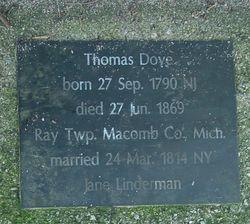 Thomas Dove