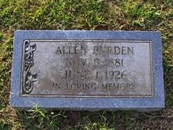 Allen Burden