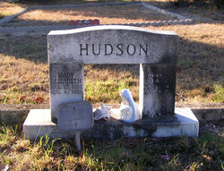 Mary Elizabeth Lizzie <i>Puryear</i> Hudson