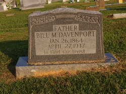 William M Bill Davenport