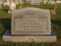 Mary <i>Eason</i> Davenport