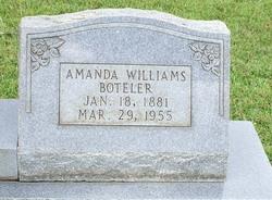 Amanda <i>Williams</i> Boteler